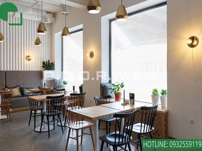 3- 5 lưu ý khi thiết kế thi công nội thất quán cafe cần note lại