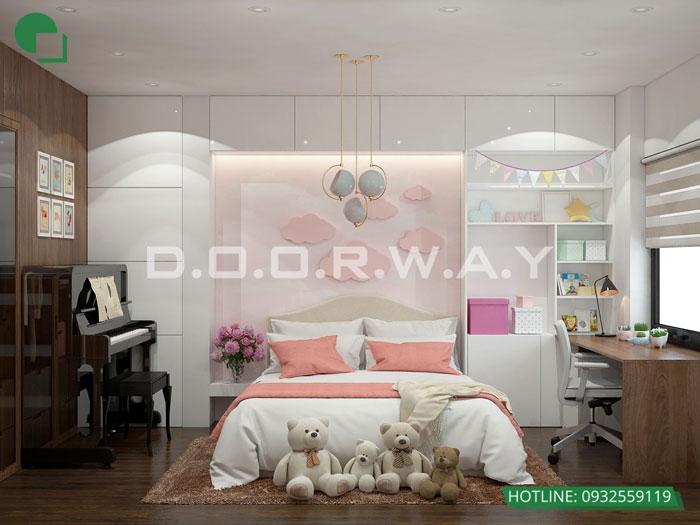 5- Ghim ngay 7 mẫu nội thất phòng ngủ đẹp cho bé gái