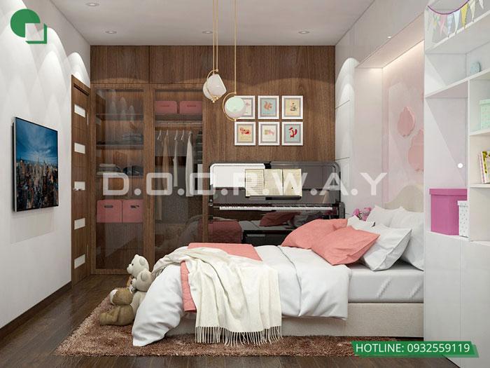 6- Ghim ngay 7 mẫu nội thất phòng ngủ đẹp cho bé gái