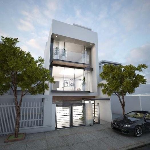 (6)7 mẫu thiết kế nhà phố 3 tầng 5x16m đơn giản nhưng ấn tượng