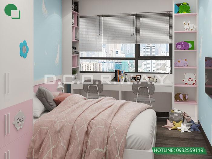 8- Ghim ngay 7 mẫu nội thất phòng ngủ đẹp cho bé gái