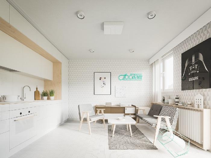 (8)Chiêm ngưỡng chi tiết 3 thiết kế căn hộ cho người nước ngoài thuê