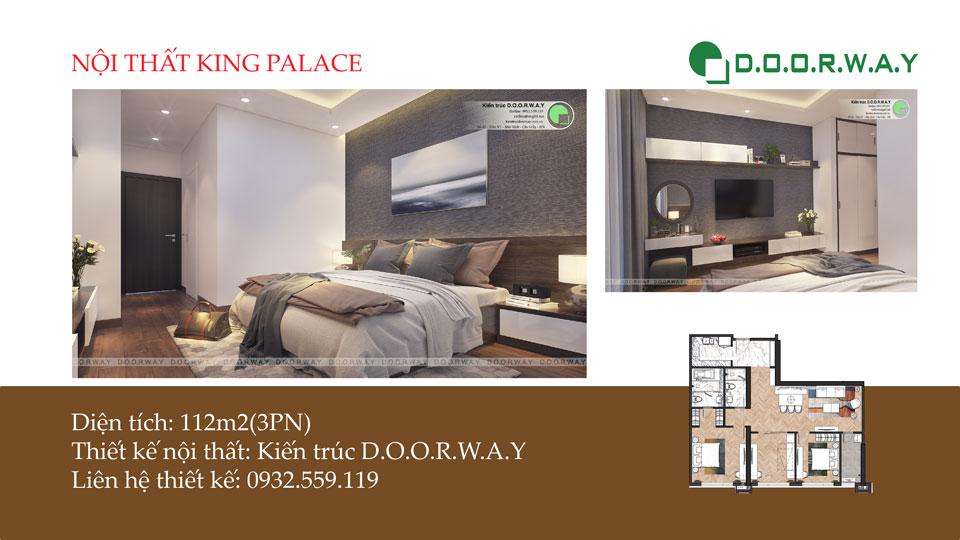 Ảnh tiêu biểu- Ý tưởng bố trí nội thất căn hộ 112m2 King Palace đơn giản dễ dàng