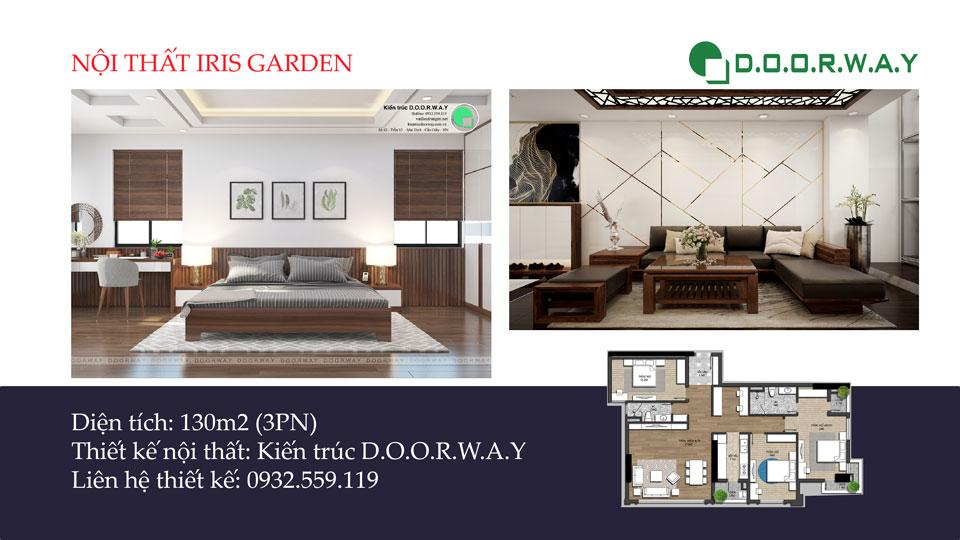 Ảnh tiêu biểu- Khám phá nội thất căn hộ 130m2 Iris Garden