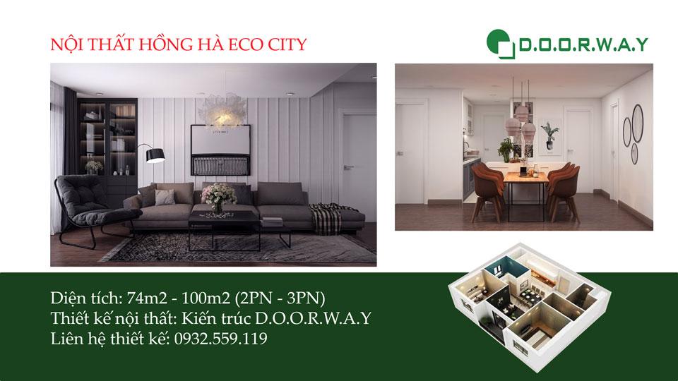 Ảnh tiêu biểu- Vẻ đẹp của thiết kế nội thất chung cư Sakura Hồng Hà - 2020
