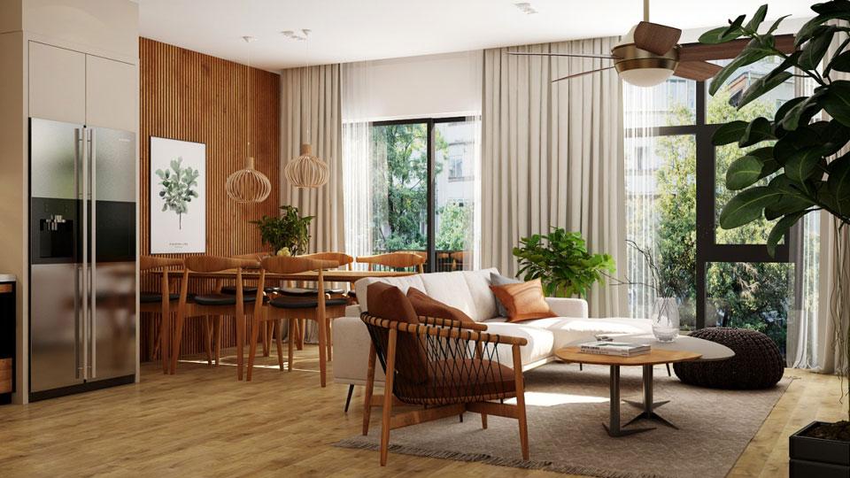 Ảnh tiêu biểu- Thiết kế thi công nội thất nhà phố 5 tầng - Anh Chính (Âu Cơ Tây Hồ)
