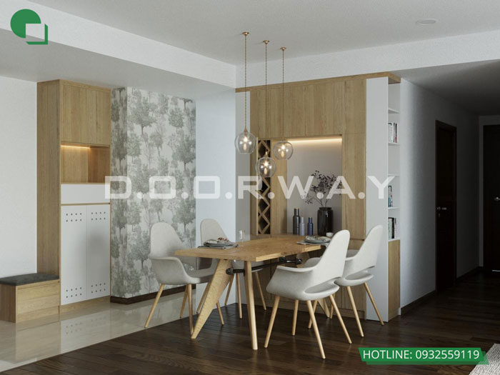 PA1- Ấn tượng với nội thất chung cư 3 phòng ngủ tại Hateco Apollo - a Hưng