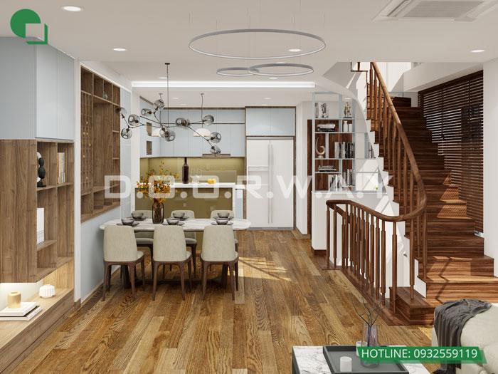 PA1- [Full] Thiết kế nội thất nhà ống mặt tiền 5m đẹp nhất