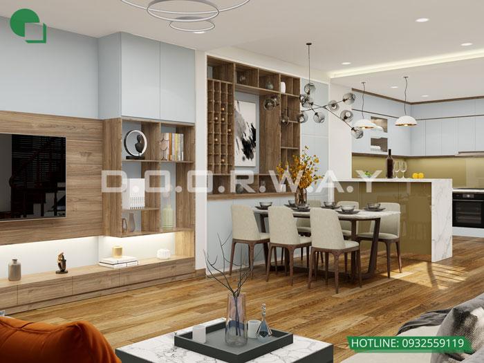 PA2- [Full] Thiết kế nội thất nhà ống mặt tiền 5m đẹp nhất
