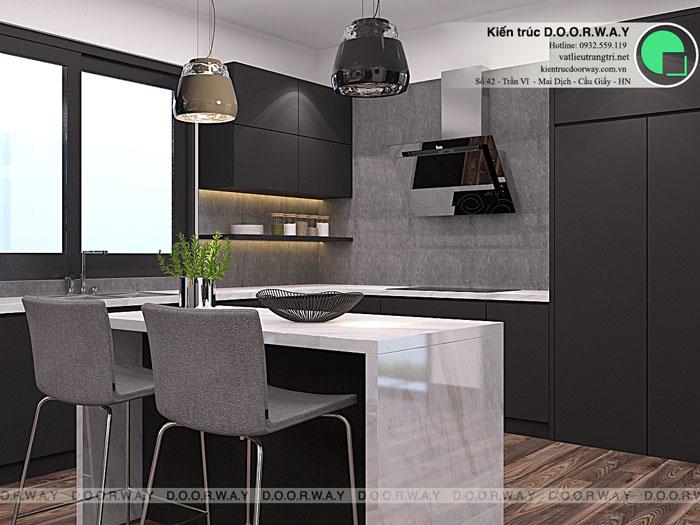 PB1- Mẫu nội thất căn hộ 125m2 King Palace - Căn hộ 3PN đẹp