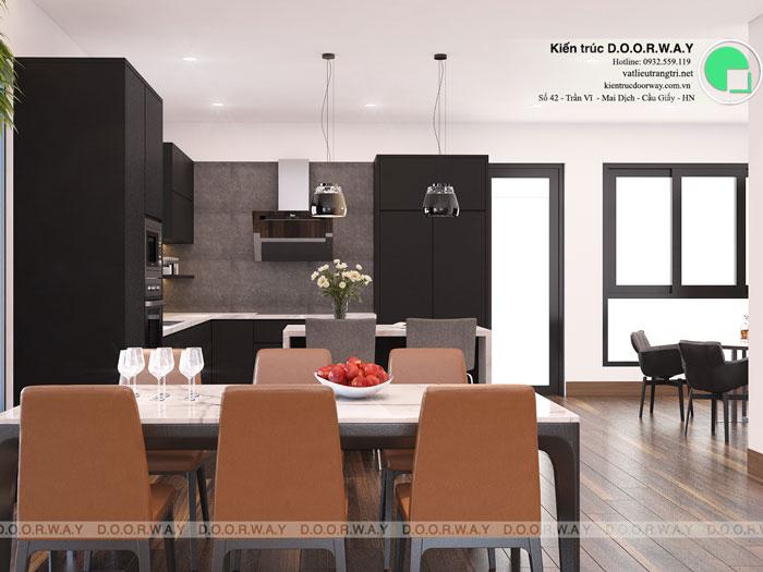 PB2- Mẫu nội thất căn hộ 125m2 King Palace - Căn hộ 3PN đẹp