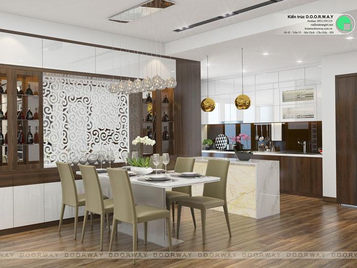 PBA1- Khám phá nội thất căn hộ 130m2 Iris Garden