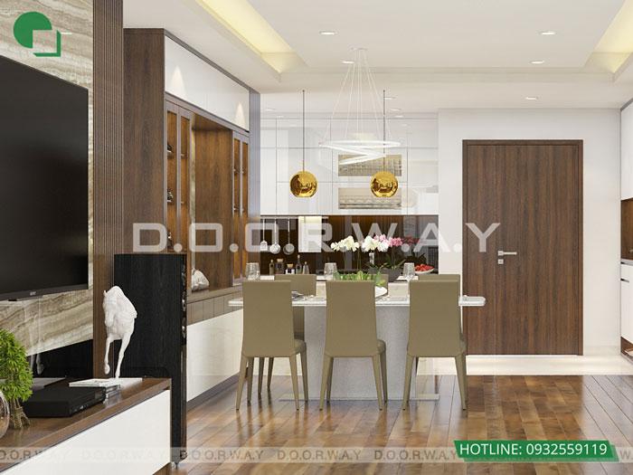 PBA2- Khám phá nội thất căn hộ 130m2 Iris Garden