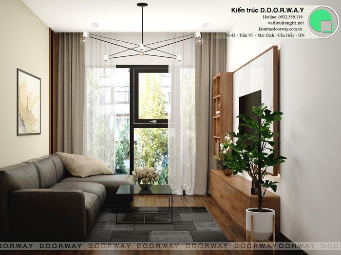 PK1 - Nội thất căn hộ 110m2 The Legacy đẹp đáng đầu tư