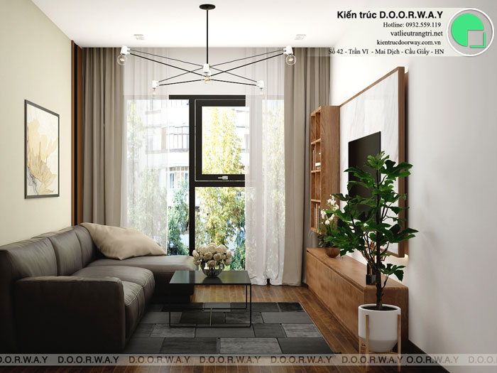 PK1- Mẫu nội thất căn hộ 125m2 King Palace - Căn hộ 3PN đẹp