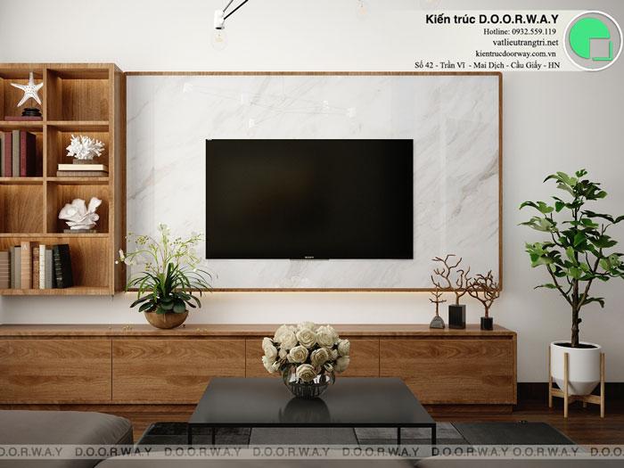 PK2- Mẫu nội thất căn hộ 125m2 King Palace - Căn hộ 3PN đẹp