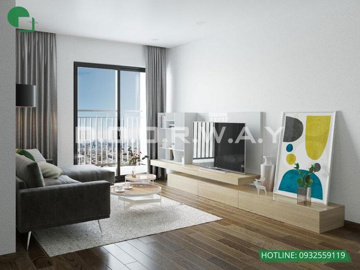 PK2- Ấn tượng với nội thất chung cư 3 phòng ngủ tại Hateco Apollo - a Hưng