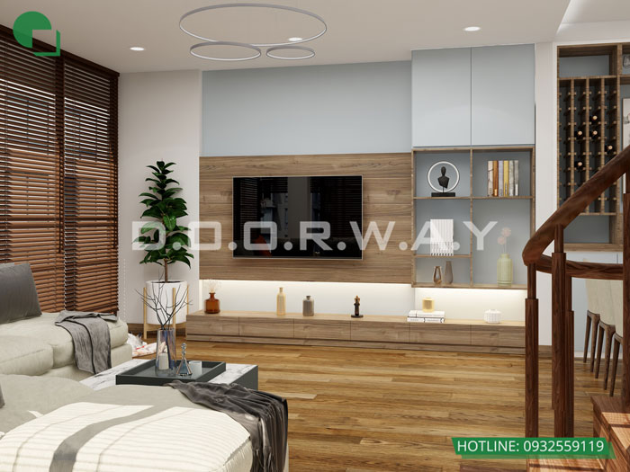 PK2- [Full] Thiết kế nội thất nhà ống mặt tiền 5m đẹp nhất