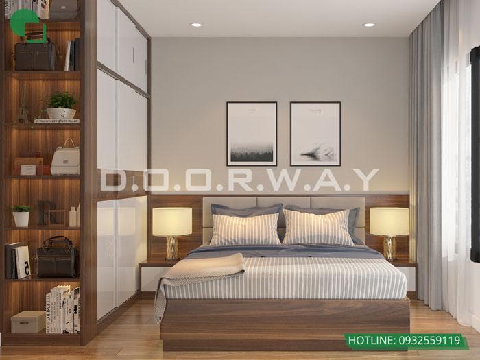 PN1(1) - Nội thất căn hộ 110m2 The Legacy đẹp đáng đầu tư