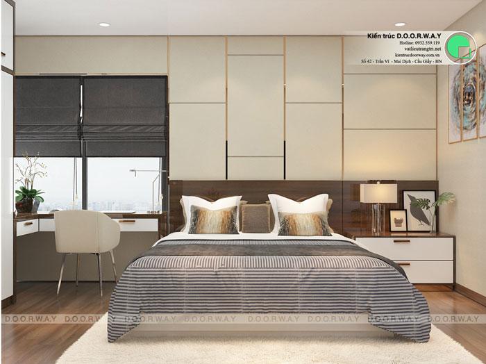 PN1(1)- Gợi ý mẫu nội thất căn hộ 92m2 Dreamland Bonanza đẹp hiện đại