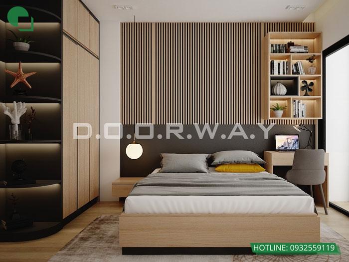 PN1(1) - [Hot] Thiết kế nội thất chung cư Iris Garden hiện đại, sang trọng