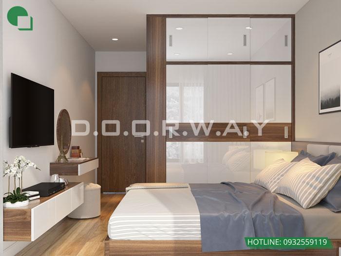 PN1(2) - Nội thất căn hộ 110m2 The Legacy đẹp đáng đầu tư