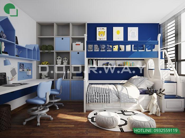 PN2(1)- Khám phá nội thất căn hộ 130m2 Iris Garden