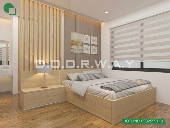 PN2(1)- Gợi ý mẫu nội thất căn hộ 92m2 Dreamland Bonanza đẹp hiện đại