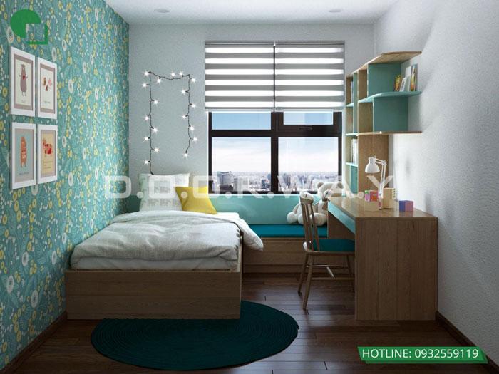 PN2(1)- Ấn tượng với nội thất chung cư 3 phòng ngủ tại Hateco Apollo - a Hưng