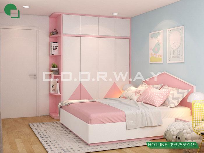 PN2(1) - [Hot] Thiết kế nội thất chung cư Iris Garden hiện đại, sang trọng