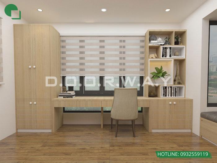 PN2(2)- Gợi ý mẫu nội thất căn hộ 92m2 Dreamland Bonanza đẹp hiện đại