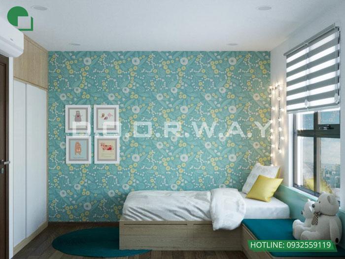 PN2(2)- Ấn tượng với nội thất chung cư 3 phòng ngủ tại Hateco Apollo - a Hưng