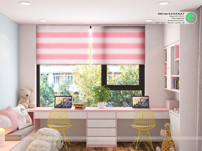 PN2(2) - [Hot] Thiết kế nội thất chung cư Iris Garden hiện đại, sang trọng