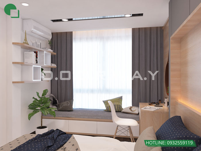 PN3(2)- Mẫu nội thất căn hộ 125m2 King Palace - Căn hộ 3PN đẹp