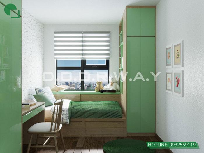 PN3(2)- Ấn tượng với nội thất chung cư 3 phòng ngủ tại Hateco Apollo - a Hưng