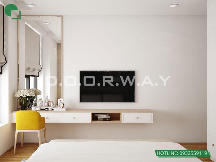 PN3(2) - [Hot] Thiết kế nội thất chung cư Iris Garden hiện đại, sang trọng