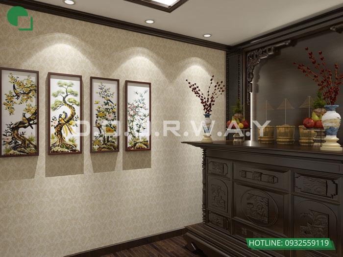 PT(2)- Khám phá nội thất căn hộ 130m2 Iris Garden