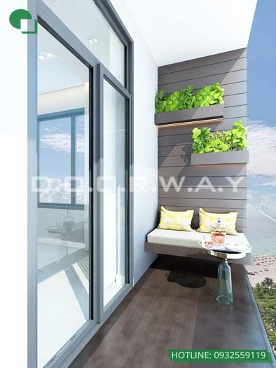 Tieu-canh(1) - Nội thất căn hộ 110m2 The Legacy đẹp đáng đầu tư
