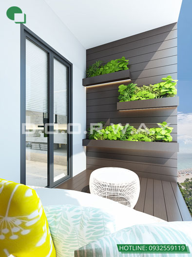 Tieu-canh(2) - Nội thất căn hộ 110m2 The Legacy đẹp đáng đầu tư