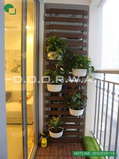 Tieu-canh(2)- Khám phá nội thất căn hộ 130m2 Iris Garden