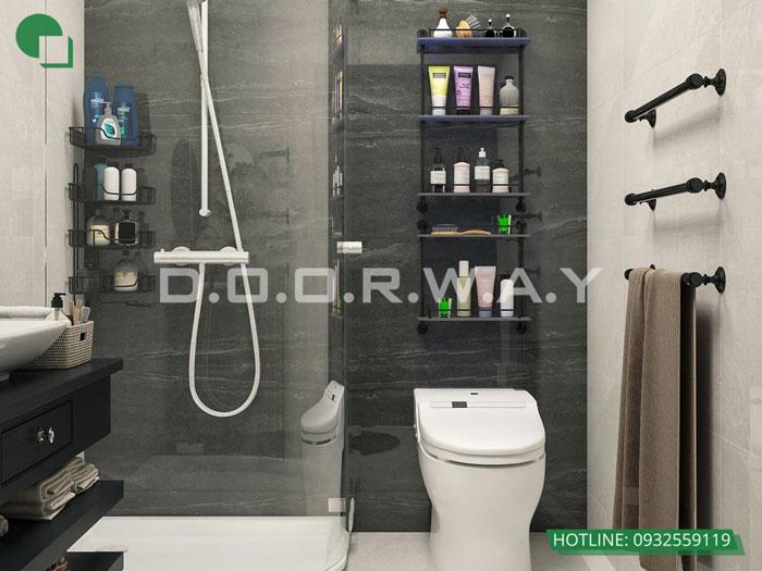 WC(1) - [Hot] Thiết kế nội thất chung cư Iris Garden hiện đại, sang trọng