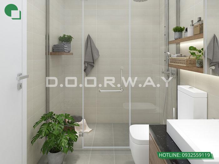 WC(2) - Nội thất căn hộ 110m2 The Legacy đẹp đáng đầu tư