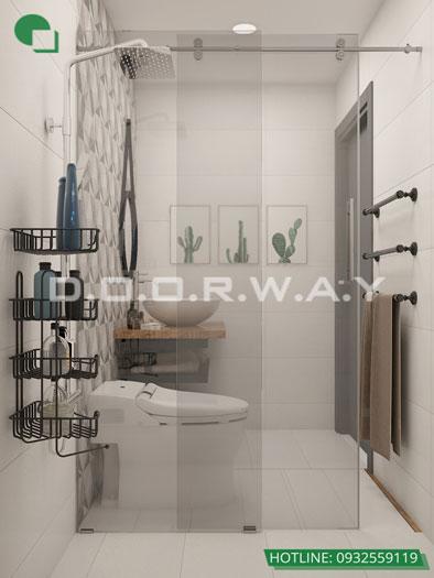 WC(2)- Mẫu nội thất căn hộ 125m2 King Palace - Căn hộ 3PN đẹp
