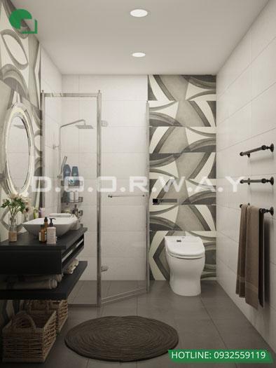 WC(2)- Gợi ý mẫu nội thất căn hộ 92m2 Dreamland Bonanza đẹp hiện đại
