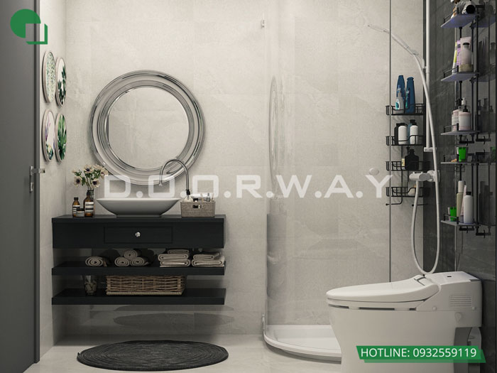 WC(2) - [Hot] Thiết kế nội thất chung cư Iris Garden hiện đại, sang trọng