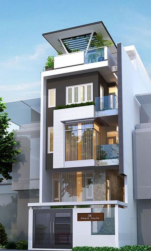 (5)Tìm hiểu một số thông tin kỹ thuật trong mẫu nhà 5 tầng có thang máy