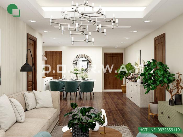 PK2-PK - Mẫu nội thất chung cư tân cổ điển đẹp sang trọng