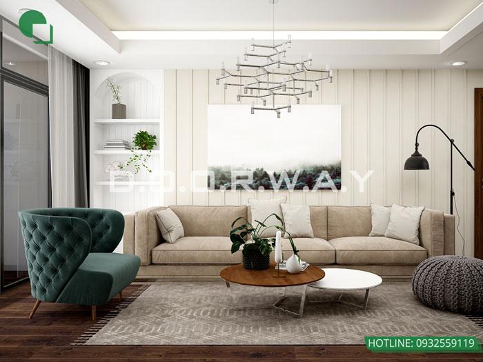 PK - Mẫu nội thất chung cư tân cổ điển đẹp sang trọng