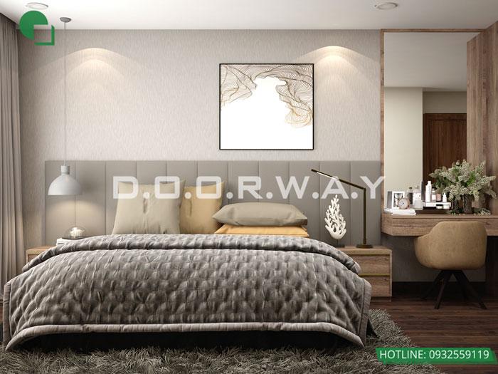 PN1(2)- Mẫu nội thất chung cư tân cổ điển đẹp sang trọng