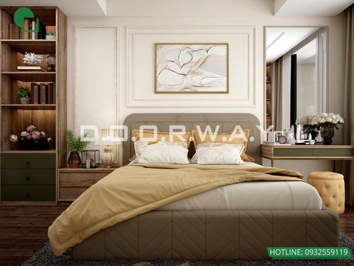 PN2 (1) - Mẫu nội thất chung cư tân cổ điển đẹp sang trọng